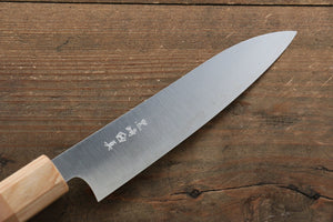 Makoto Kurosaki R2/SG2 Petty-Utility Japanese Chef Knife 135mm with Japanese Cherry Wood Handle - Japanny - Best Japanese Knife