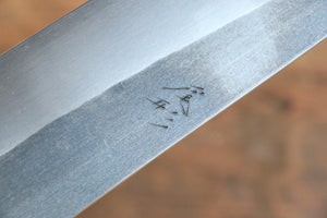Ogata R2/SG2 Kurouchi Black Finished Santoku Japanese Knife 180mm with Shitan Handle - Japanny - Best Japanese Knife