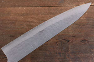 Nao Yamamoto SRS13 Black Damascus Gyuto Japanese Knife 240mm Cherry Blossoms Handle - Japanny - Best Japanese Knife
