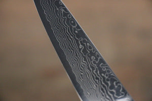 Takayuki Iwai VG10 Fumon Damascus Petty Japanese Chef Knife 105mm - Japanny - Best Japanese Knife