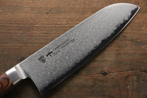 Tamahagane  63 Layer Damascus Santoku Japanese Knife 160mm - Japanny - Best Japanese Knife