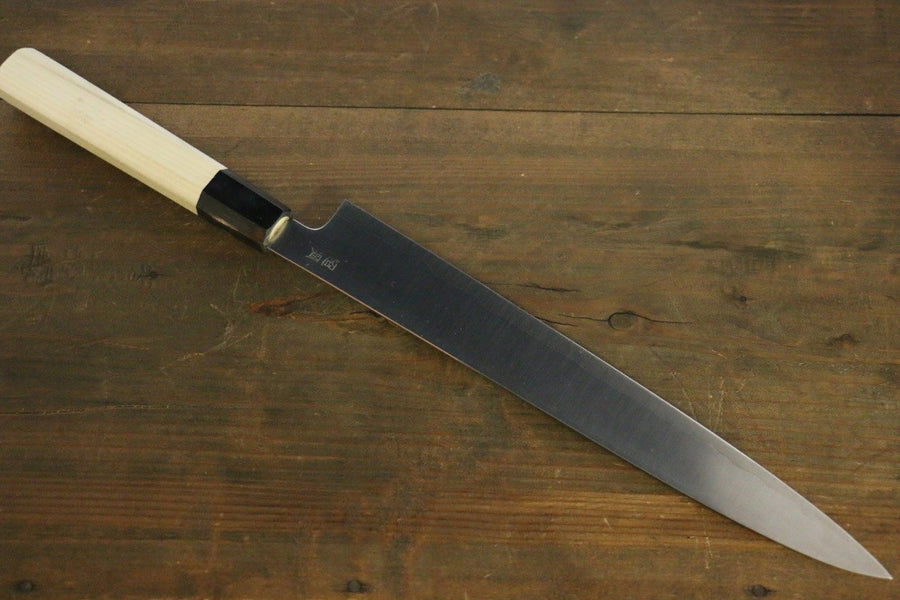 Sukenari ZDP189 3 Layer Sujihiki Japanese Knife 270mm Magnolia Handle - Japanny - Best Japanese Knife