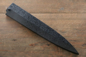 SandPattern Saya Sheath for Yanagiba Sashimi Knife with Plywood Pin-210mm - Japanny - Best Japanese Knife