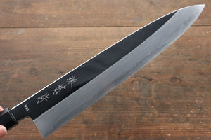 Kikumori VG10 Mirrored Finish Gyuto Japanese Knife 270mm with Ebony Wood Handle - Japanny - Best Japanese Knife
