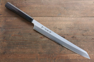 Sakai Takayuki Sakai Takayuki Chef Series  Hien Silver Steel No.3 Kengata Yanagiba Japanese Knife 300mm with Ebony Wood Handle - Japanny - Best Japanese Knife
