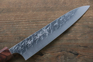 Yu Kurosaki Raijin Cobalt Special Steel Hammered Petty-Utility Japanese Knife 150mm - Japanny - Best Japanese Knife