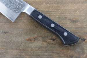 Takayuki Iwai VG10 Fumon Damascus Santoku Japanese Chef Knife 165mm - Japanny - Best Japanese Knife