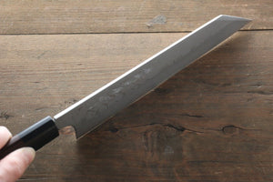 Hideo Kitaoka White Steel No.2 Damascus Kiritsuke Yanagiba Japanese Chef Knife 210mm - Japanny - Best Japanese Knife