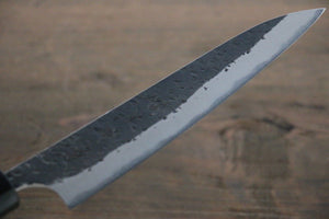 Yu Kurosaki Blue Super Clad Hammered Kurouchi Petty Japanese Chef Knife 150mm - Japanny - Best Japanese Knife