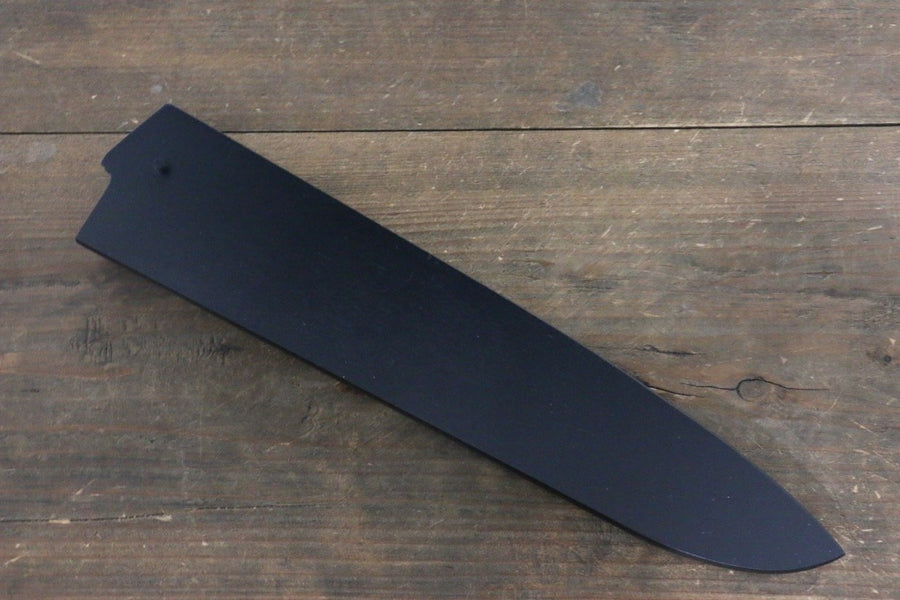 Black Saya Sheath for Gyuto Knife with Plywood Pin 240mm Classic - Japanny - Best Japanese Knife