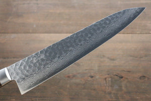 Seisuke 17 Layer Damascus Hammered Japanese Chef Kitchen Knife 240mm - Japanny - Best Japanese Knife