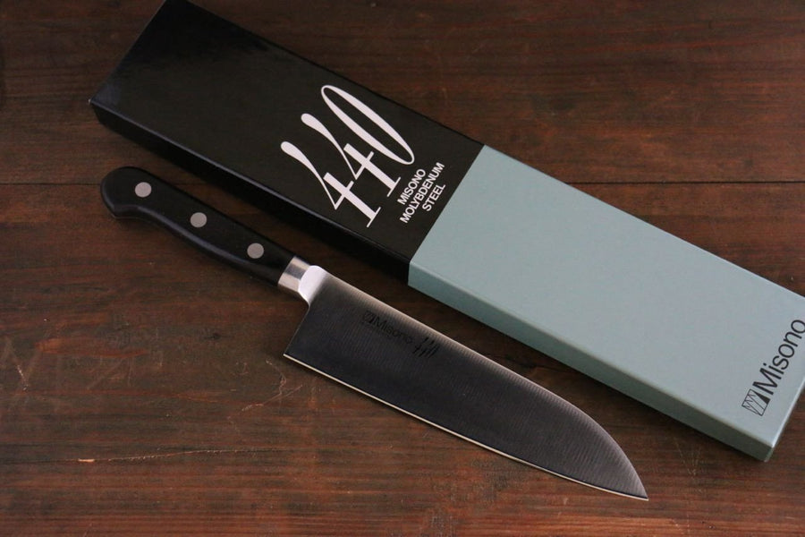 Misono 440 Molybdenum Steel Santoku All Purpose Japanese Chef Knife 180mm - Japanny - Best Japanese Knife