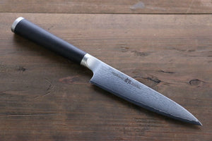 Miyako 33 Layer Damascus AUS-8a Petty Utility Japanese Chef Knife, 130mm - Japanny - Best Japanese Knife