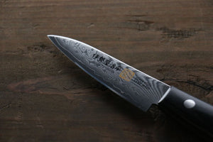 Iseya VG10 G-Series 33 Layer Damascus Japanese Chef's Paring Knife, 80mm - Japanny - Best Japanese Knife