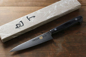 Iseya VG10 G-Series 33 layer Damascus Japanese Chef's Petty Knife, 120mm - Japanny - Best Japanese Knife