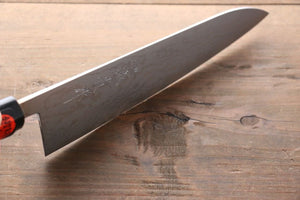 Shigeki Tanaka Blue Steel No.2 17 Layer Damascus Japanese Chef's Gyuto Knife 180mm  with Magnolia Handle (ferrule: Water Buffalo) - Japanny - Best Japanese Knife