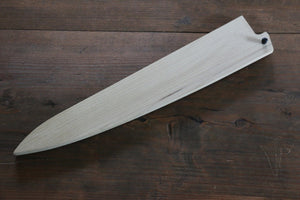 Magnolia Saya Sheath for Sujihiki Knife with Plywood Pin - 270mm - Japanny - Best Japanese Knife