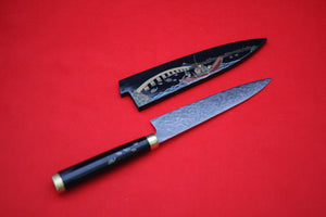 Takeshi Saji R2 Japanese Gyuto Chef Knife 180mm with Maki-Art Bridge & Ship - Japanny - Best Japanese Knife