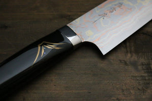 Takeshi Saji Damascus Japanese Gyuto Chef Knife 240mm - Japanny - Best Japanese Knife