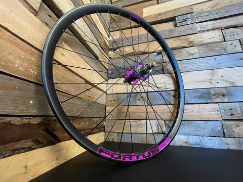 Hope Pro 4 hubs with Fortus Rims