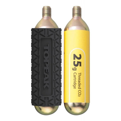 TOPEAK CO2 CARTRIDGES WITH SLEEVES