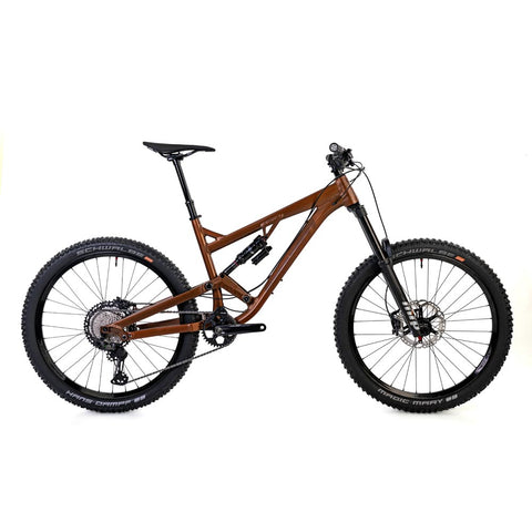 Identiti Mettle II RC Complete Bike - Bronze/Rust