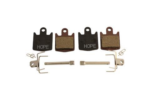 Hope DH4 / E4 M4 OLD, Standard compound, Black, Pair