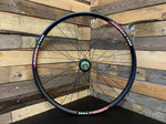 "(Slam69built) Halo Chaos 26"" / Hope Pro 4 Trials/SS Rear Wheel (Black/Black)"