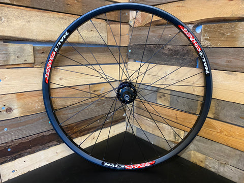 "(Slam69built) Halo Chaos 26"" / Halo DJD Supadrive SS / Rear Wheel (Black/Black)"