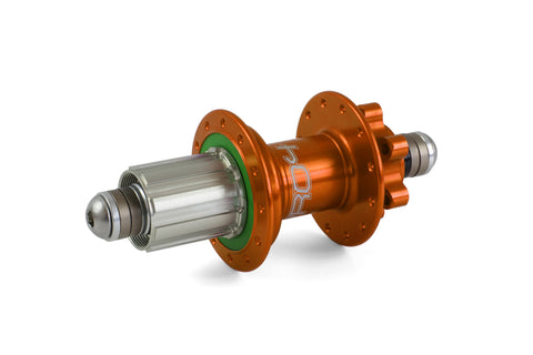 Hope PRO 4 Rear 24H Orange 135mm - 10mm bolt-in