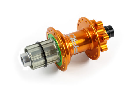 Hope PRO 4 Rear 28H Orange 142mm - 12mm