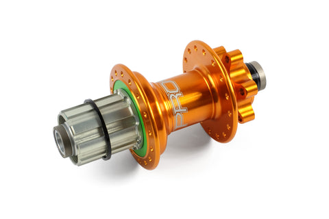 Hope PRO 4 Rear 36H Orange 135mm - 12mm