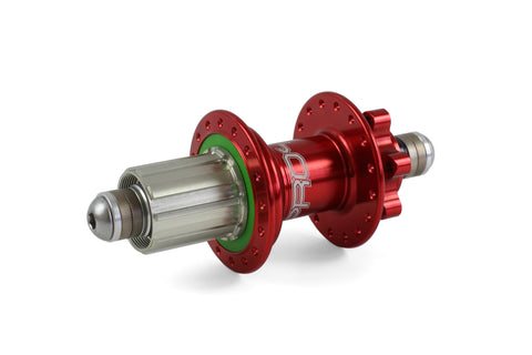 Hope PRO 4 Rear 36H Red 135mm - 10mm bolt-in