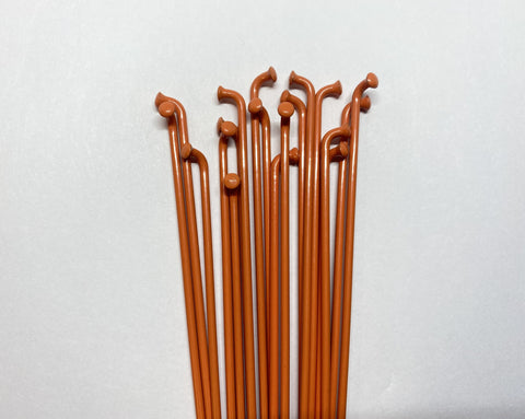 Dartmoor Spokes - ORANGE Painted / Single