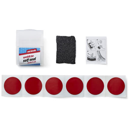 Weldtite Red Devils Puncture Patch Repair Kit