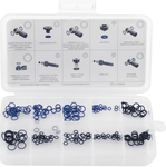 Aztec O-ring assorted selection of 10 sizes for common disc brake brands