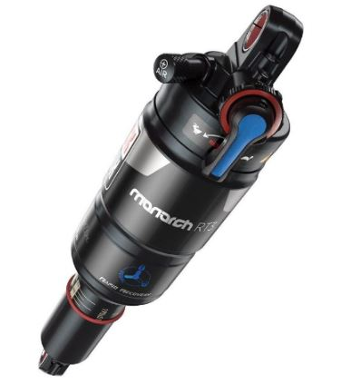 ROCKSHOX - MONARCH RT3 - (184X48/7.25X1.9) DEBONAIR - 2 VOLUME REDUCERS - MREB/MCOMP - SOFTPEDAL - 3