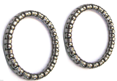 "Caged Ball Bearings - 1/4"" x 9 (Each)"