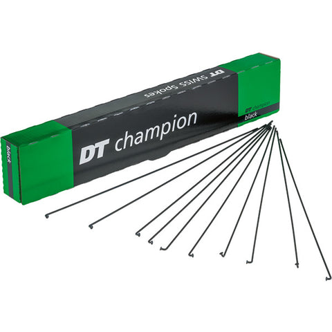 DT Swiss Champion Spokes - Black / Each