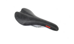Charge Spoon Chromo Saddle - Black/Red