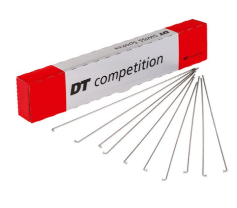 DT Swiss Competition Double Butted Silver 2.0 / 1.8 - Each