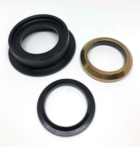Dartmoor Bottom Headset Part - Lower Cup - ZS49/30 (Black)