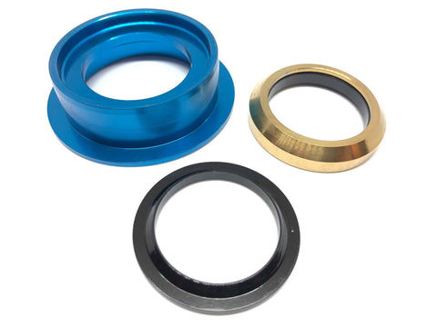 Dartmoor Bottom Headset Part - Lower Cup - ZS49/30 (Blue)