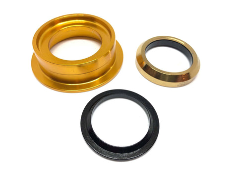 Dartmoor Bottom Headset Part - Lower Cup - ZS49/30 (Gold)