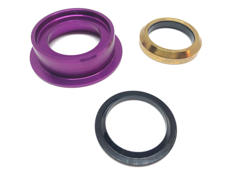 Dartmoor Bottom Headset Part - Lower Cup - ZS49/30 (Violet)