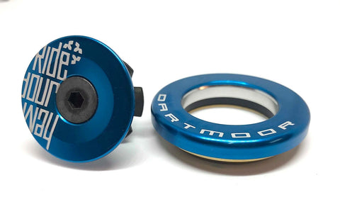Dartmoor Top Headset - Upper Cup IS42/28.6 or EC34/28.6 (Blue)