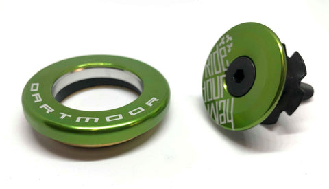 Dartmoor Top Headset - Upper Cup IS42/28.6 or EC34/28.6 (Green)