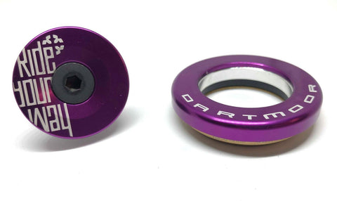 Dartmoor Top Headset - Upper Cup IS42/28.6 or EC34/28.6 (Violet)