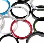 "Dia-Compe 1.1/8""  Headset Spacers - 5mm Coloured Aluminium"