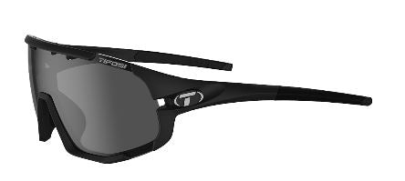 TIFOSI SLEDGE INTERCHANGEABLE LENS SUNGLASSES - MATTE BLACK